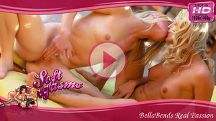 Two Blondes in Real Lesbian Passion
