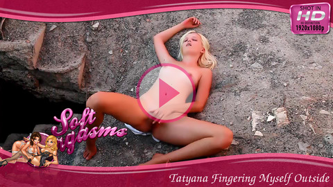 Tatyana Fingering Myself Outside - Play FREE Preview Video!