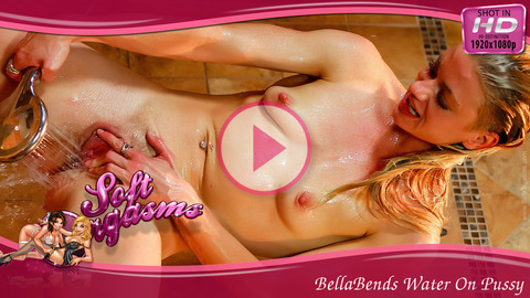 BellaBends Water On Pussy - Play FREE Preview Video!